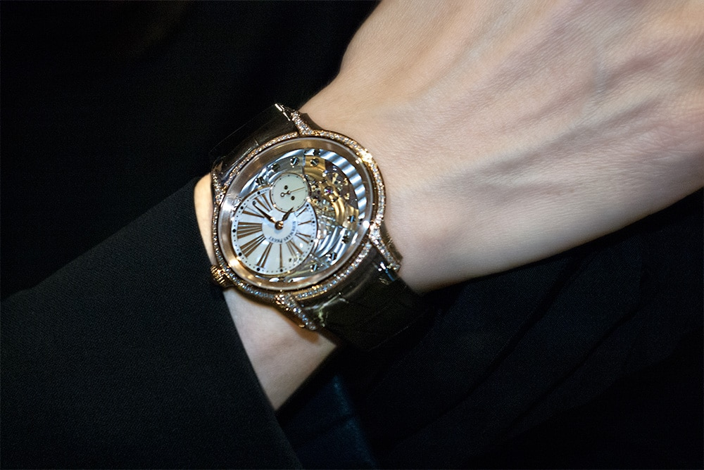 "size 40 a5915 29e45 オーデマ・ピゲの芸術的腕時計、美しい""ミレネリー""   株式会社 ..."