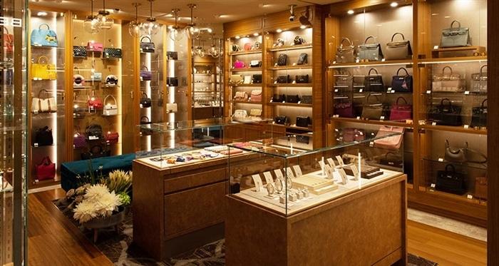 ベティーロード ジュエリー&バッグ専門店の店内のイメージ
